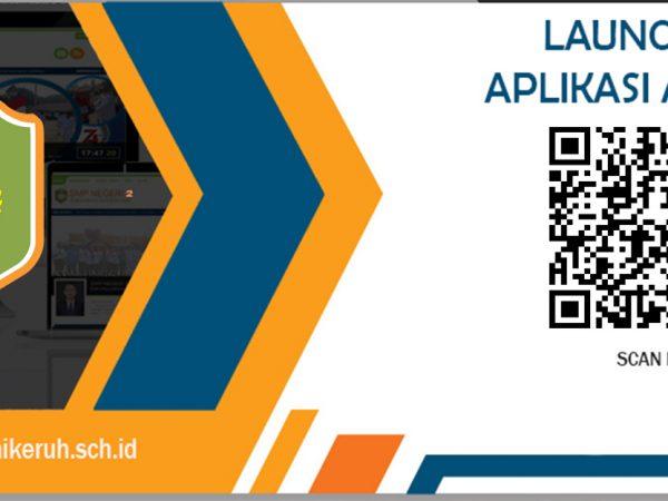 SMP N.2 Sungai Keruh Launching Logo Sekolah dan Aplikasi Android