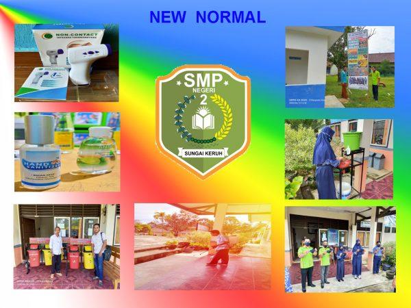 sudah mendekati tahun ajaran baru smp n 2 sungai keruh siapkan sekolah masuk era new normal