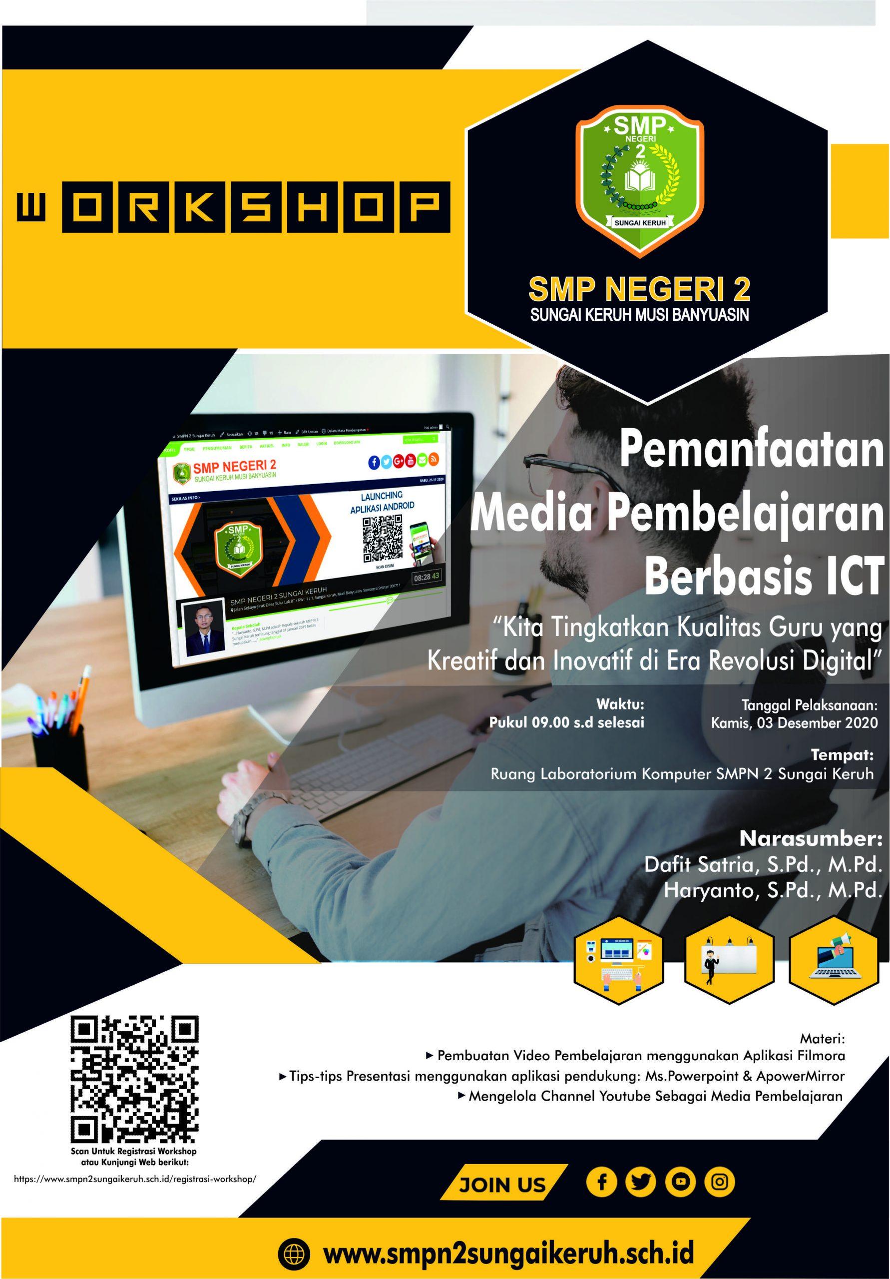 Workshop Pemanfaatan Media Pembelajaran Berbasis ICT
